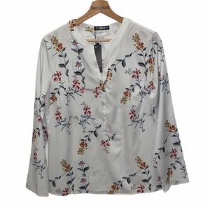 🆕 SHEILAY Women's Floral Blouse